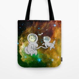 Space Doges Tote Bag