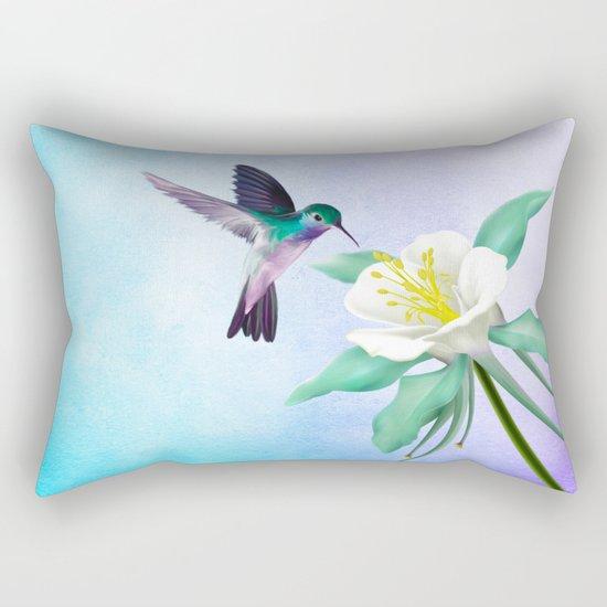 hummingbird. Rectangular Pillow