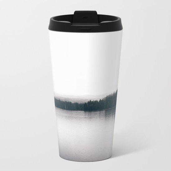 Forest Lake II Metal Travel Mug