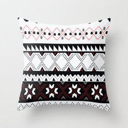 Fair Isle  Throw Pillow