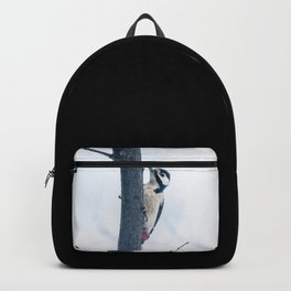 Great spotted woodpecker Backpack