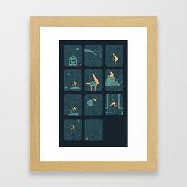 Taking The Long Road Home Framed Art Print