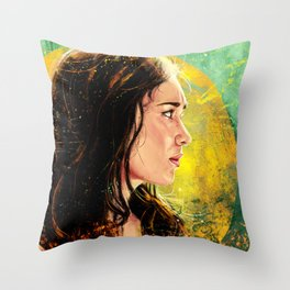 Ghost Of You Throw Pillow