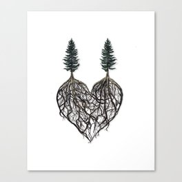 The Way I Love You (album cover for Corey Lewin) Canvas Print