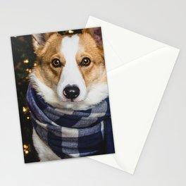 Christmas Corgi Stationery Cards