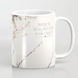 Happy Life Coffee Mug