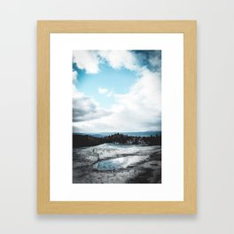 Where The Skies Are Blue Framed Art Print