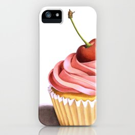 The Perfect Pink Cupcake iPhone Case