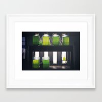 titan Framed Art Prints featuring Titan by xoxo