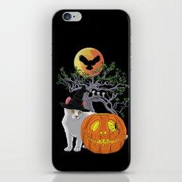 Cat Halloween Boys iPhone Skin