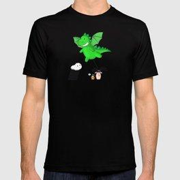Godzilla rains first! T-shirt
