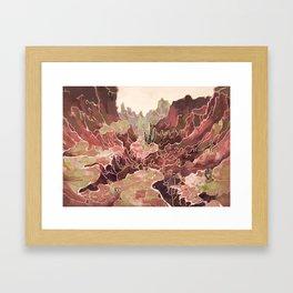 Petal Valley Framed Art Print