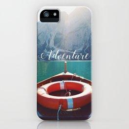 Live the Adventure - Typography iPhone Case