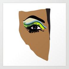 eye Art Print