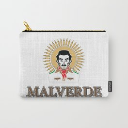 Jesus Malverde - Saint of the Drug Lords Carry-All Pouch