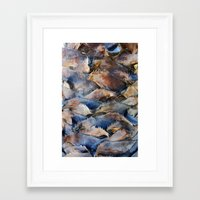 palm Framed Art Prints featuring PALM by Pitter Patterns