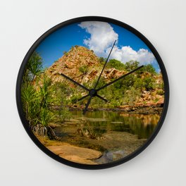 Bell Gorge Wall Clock