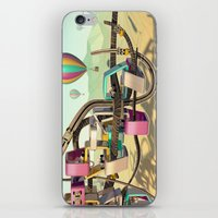 coasters iPhone & iPod Skins featuring Form Exploration 5 by Pete Maric