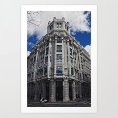 Madrid, Spain Art Print