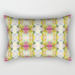 Lots of Feelings Abstract Painting Rectangular Pillow