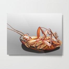 A Good Bug Is A Dead Bug. Metal Print
