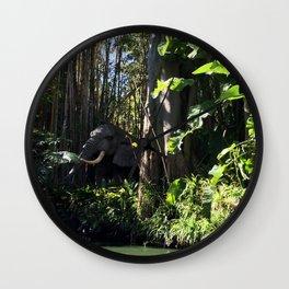 Jungle Cruse Wall Clock