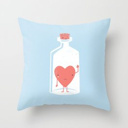 Let the LOVE Out Throw Pillow
