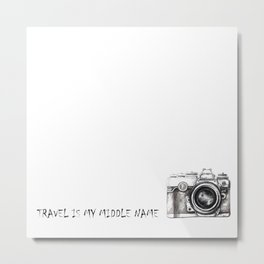 Passenger Metal Print