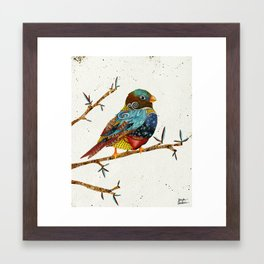 Twilight Bird 2 Framed Art Print