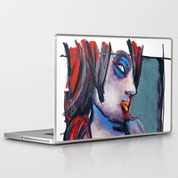 valentina Laptop & iPad Skins featuring valentina by joseph arruda (zeruch)