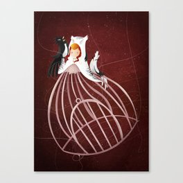 La Cage Ouverte Canvas Print