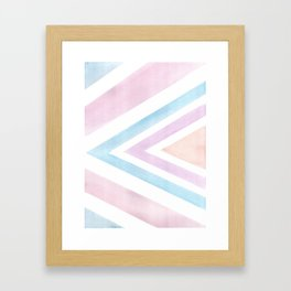 Watercolor Graphic Art Framed Art Print