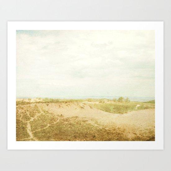 Sleeping Bear Sand Dune Art Print