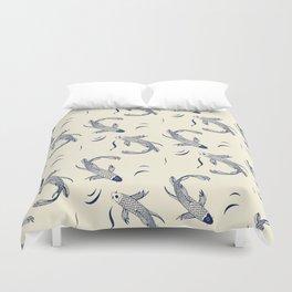 Japanese Koi Fish Pattern Duvet Cover