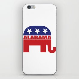 Alabama Republican Elephant iPhone Skin