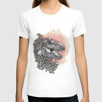 dinosaur T-shirts featuring Dinosaur by Gemma Goode