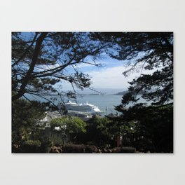 View of the San Francisco Bay Canvas Print