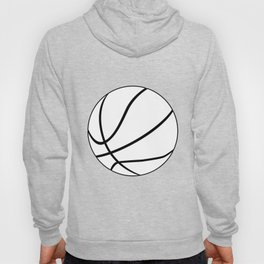 Black And White Basketball Hoody