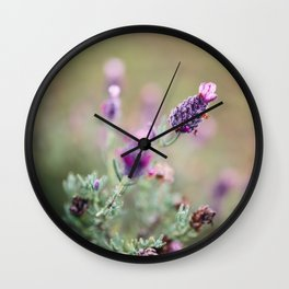 Lavender Life Wall Clock