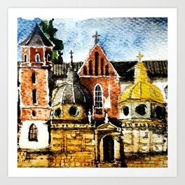 Wawel Art Print