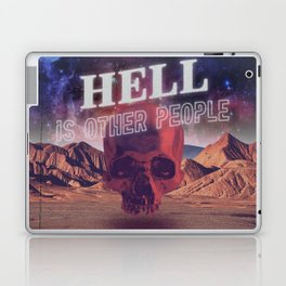 Hell is other people. Laptop & iPad Skin