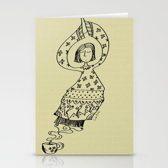 Coffee Genie Stationery Cards