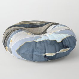 Metallic Sky Floor Pillow