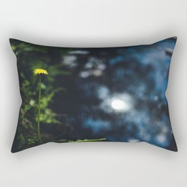 Reflection in the river Rectangular Pillow