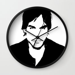 Ian Somerhalder Wall Clock