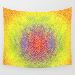 Pattern of summercolours Wall Tapestry