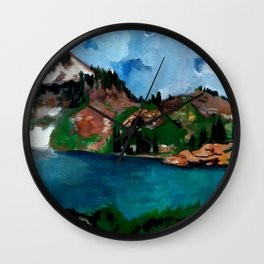 Cecret Lake. Utah. Wall Clock
