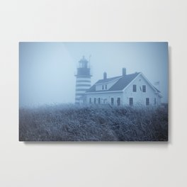 Quoddy Head Lighthouse 1 Metal Print