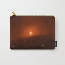 Solar Eclipse over Somerset, 2015 Carry-All Pouch