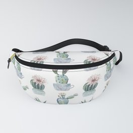Girly Rose Cactus Pots Fanny Pack